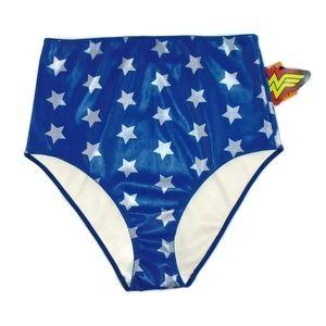 Wonder Woman High Waist Panty NWT DC Comics Stars